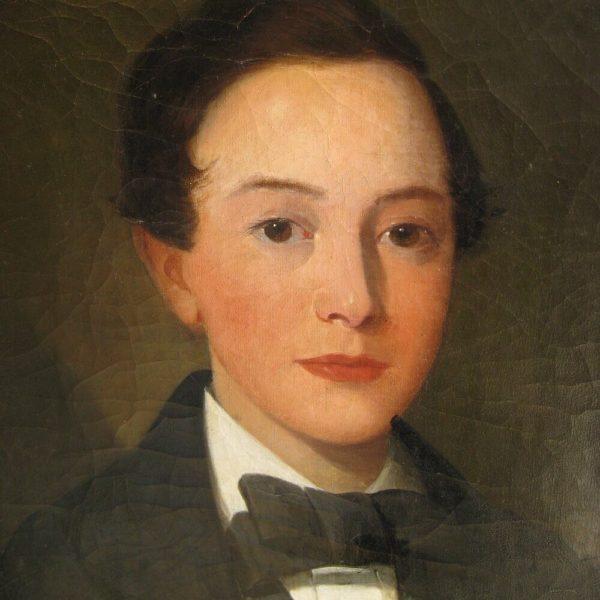 portrait of a Victorian gentleman