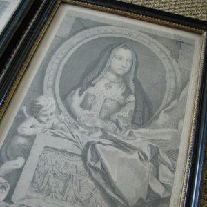Houbraken Elizabeth Queen of Henry VII